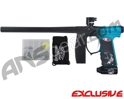Empire Mini FS Paintball Marker - Fade Dust Black/Teal
