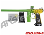 Empire Mini FS Paintball Marker - Fade Dust Green/Yellow