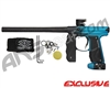 Empire Mini GS Paintball Gun - Dust Black/Teal Fade
