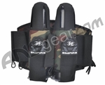 Empire 2009 09 React Pack Paintball Harness - 2+5 - Camo