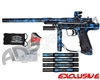 Empire Resurrection Autococker Paintball Gun - Polished Acid Wash Blue