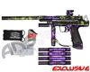 Empire Resurrection Autococker Paintball Gun - Polished Acid Wash Green w/ Purple Accents