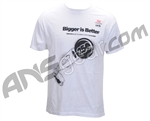 Empire Bigger Is Better Men's T-Shirt - White