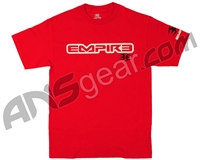 Empire Sunday Club T-Shirt - Red