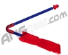 Exalt Paintball Barrel Maid Swab - Blue/Red