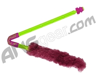 Exalt Paintball Barrel Maid Swab - Lime/Pink