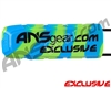 Exalt Bayonet Barrel Cover - ANSgear Lime/Blue Swirl