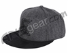 Exalt North Men's Fitted Hat - Charcoal/Black