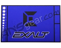 Exalt HD Rubber Paintball Tech Mat - Arctic Blue