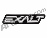 Exalt Logo Sticker - White/Black