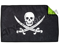 Exalt Microfiber Player Goggle Cloth - Jolly Roger Pirate