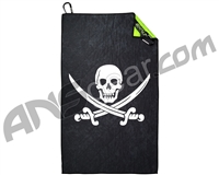 Exalt Microfiber Team Goggle Cloth - Jolly Roger Pirate