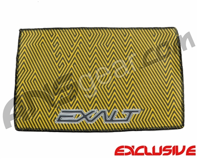 Exalt Microfiber Zig Zag Player Goggle Cloth - Orange/Black