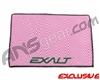 Exalt Microfiber Zig Zag Player Goggle Cloth - Pink/White