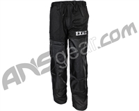 Exalt Throwback Paintball Pants - Black