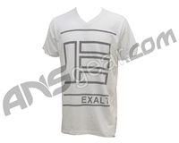 Exalt Block Paintball T-Shirt - White