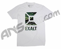 Exalt Jungle Camo Paintball T-Shirt - White
