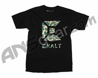 Exalt Old School Camo Paintball T-Shirt - Black