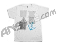 Exalt Overlap Paintball T-Shirt - White