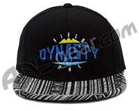 Field One Dynasty Aztec Snap Back Hat - Black