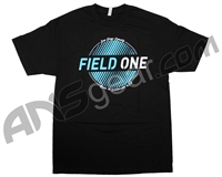 Field One Seal T-Shirt - Black