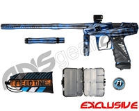 Bob Long Victory V-Com Paintball Gun - Acid Blue