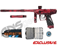 Bob Long Victory V-Com Paintball Gun - Acid Red