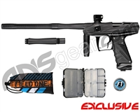 Bob Long Victory V-Com Paintball Gun - Dust Black/Polished Black