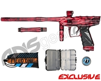 Bob Long Victory Paintball Gun - Acid Red