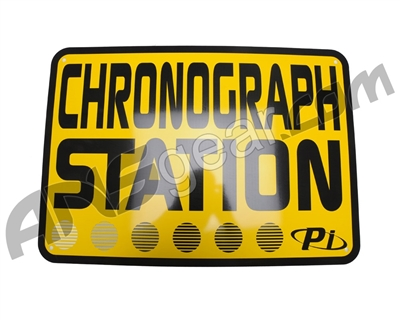 "Field Signs 20"" x 14"" - Chronograph Station"