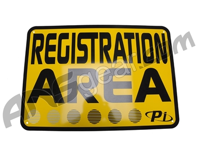 "Field Signs 20"" x 14"" - Registration Station"