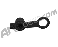 Rubber HPA Fill Nipple Cover With Lanyard - Black