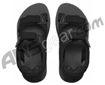 Flojo's 4X4 Velcro Sandals - Black
