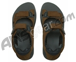 Flojo's 4X4 Velcro Sandals - Brown