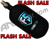 First Strike Hero Guerrilla Carbon Fiber Air Tank - 77/4500 - Black
