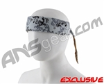 Full Clip Headband - Branches Grey