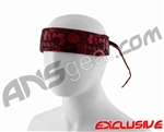 Full Clip Headband - Casino Red