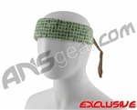 Full Clip Headband - Kanji Mint