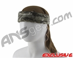 Full Clip Headband w/ Netting - Bog