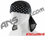 Full Clip Headband w/ Netting - Dots
