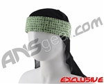 Full Clip Headband w/ Netting - Kanji Mint
