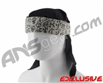 Full Clip Headband w/ Netting - Kanji XL Beige