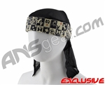 Full Clip Headband w/ Netting - Lucky Dog
