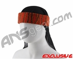 Full Clip Headband w/ Netting - Reptile Red