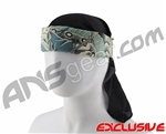 Full Clip Headband w/ Netting - Tattoo Yakuza