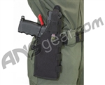 Full Clip Holster Molle/Belt - Right - Black