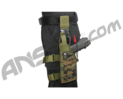 Full Clip Gen 2 Holster Thigh Rig - Left - Digital Woodland