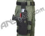 Full Clip Holster Thigh Rig - Right - Black