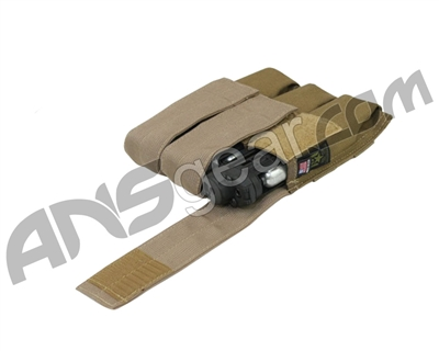 Full Clip Tiberius Triple Mag Pouch - Coyote