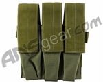 Full Clip Gen 2 Tiberius Triple Mag Pouch - Olive Drab